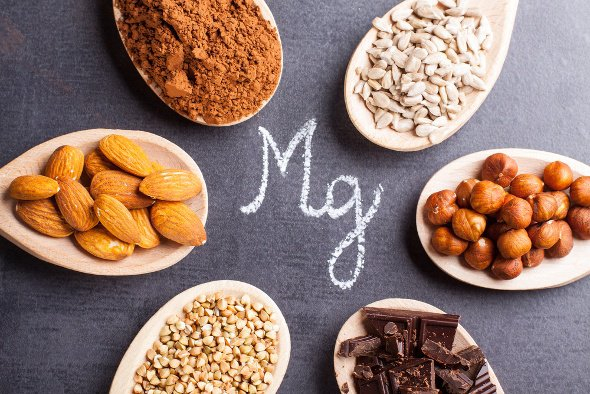 Assortment Of Magnesium Rich Foods