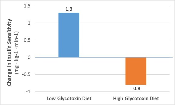 Glycotoxins on Insulin Sensitivity