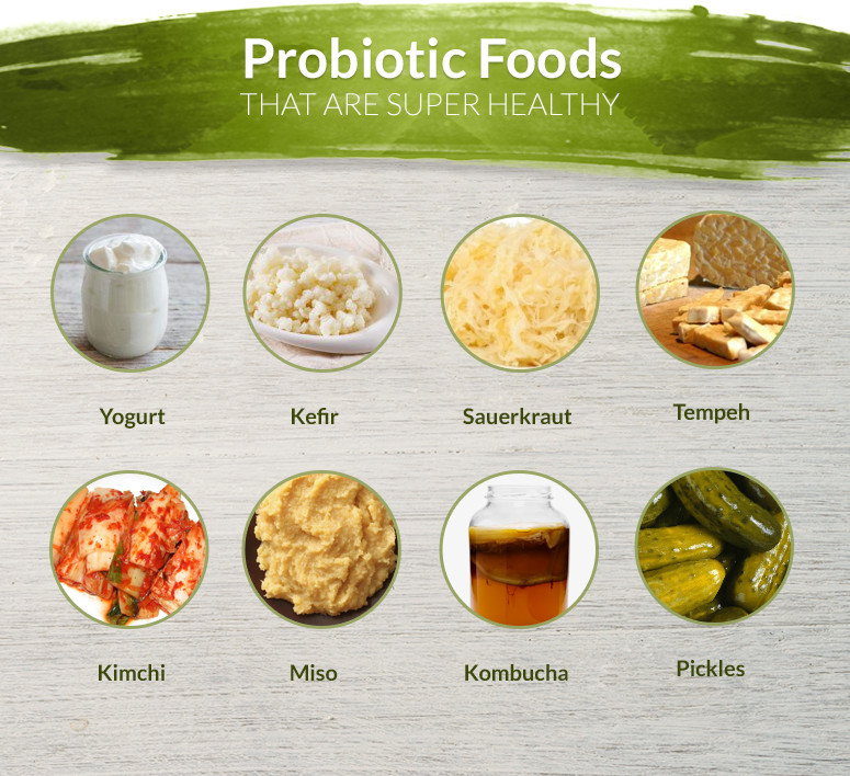 Probiotic Food Sources Natural