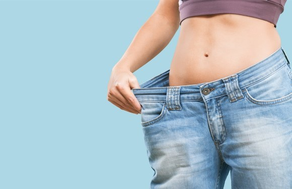 Loose Pants Showing Weight Loss