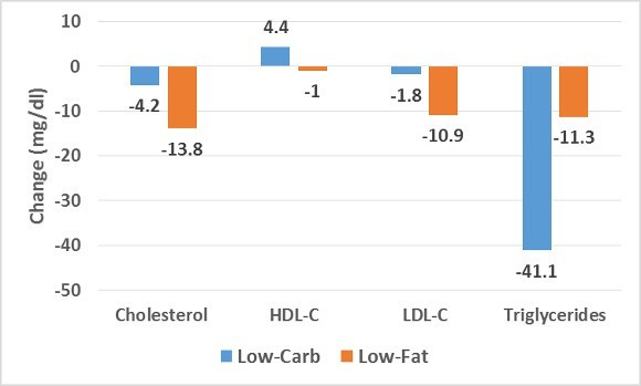 Low Carb Low Fat Changes