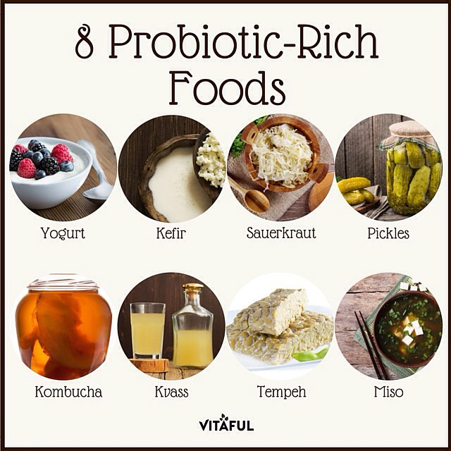 Food Sources High In Probiotics