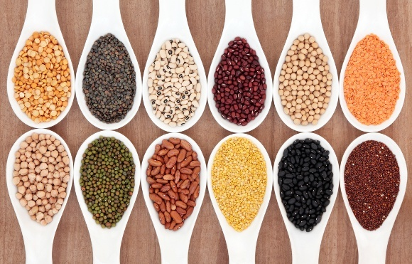 Twelve Spoons with Pulses or Legumes