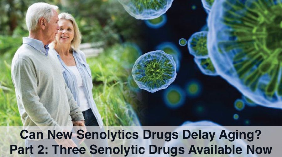 Three Senolytic Drugs are really Supplements